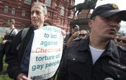 Peter Tatchell Arrested
