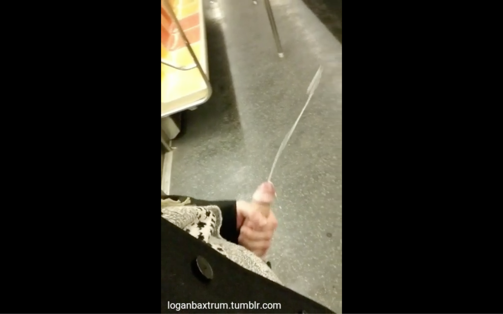 Spewing A Long Rope Of Jizz