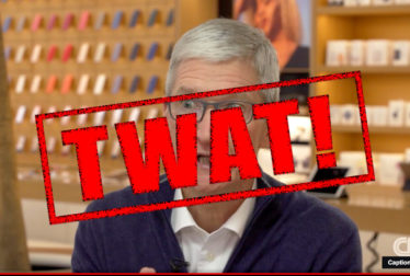 Tim Cook, Apple CEO and TWAT